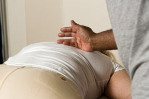 Treating back pain Sheffield
